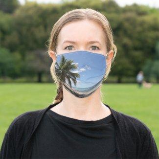 Isla Saona Caribbean Paradise Beach Cloth Face Mask