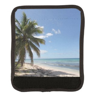 Isla Saona Caribbean Paradise Beach Luggage Handle Wrap