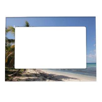 Isla Saona Caribbean Paradise Beach Magnetic Frame