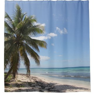 Isla Saona Caribbean Paradise Beach Shower Curtain