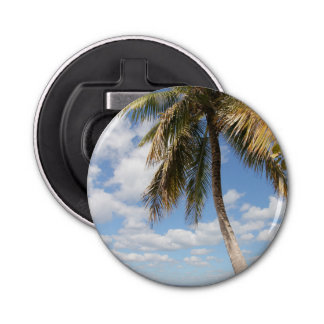 Isla Saona Palm Tree at the Beach Bottle Opener