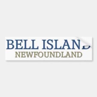 Isla Terranova de Bell Pegatina Para Auto