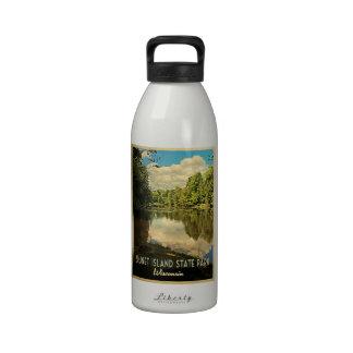 Isla triguena Wisconsin Botellas De Agua Reutilizables