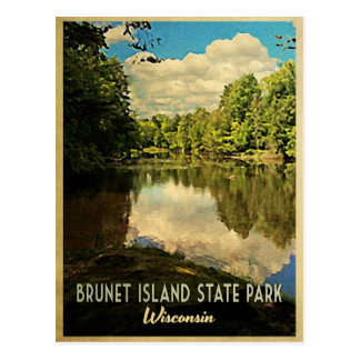 Isla triguena Wisconsin Tarjetas Postales