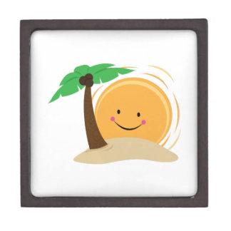 Isla tropical caja de regalo de calidad