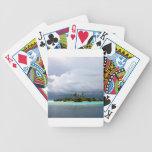Isla tropical de la ensenada del tesoro cartas de juego