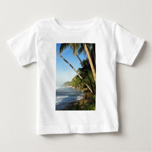 Isla tropical exótica t-shirts