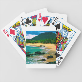 Isla tropical las orillas San Martín Baraja Cartas De Poker
