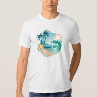 Isla tropical playeras