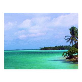 Isla tropical postales