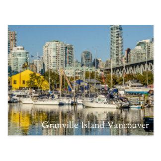 Isla Vancouver de Granville A.C. Tarjetas Postales