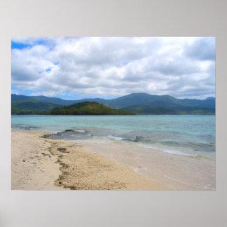 "Isla Vanuatu del misterio del poster (24"" x18"")"