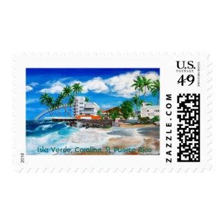 Isla Verde, Carolina, San Juan, Puerto Rico Stamp
