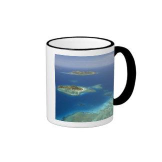 Isla y arrecife de coral, isla de Matamanoa de Mam Taza De Café