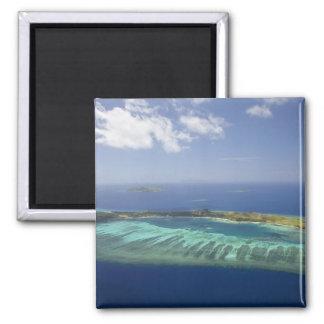 Isla y arrecife de coral, islas de Mana de Mamanuc Imán