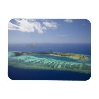 Isla y arrecife de coral, islas de Mana de Mamanuc Imanes Flexibles