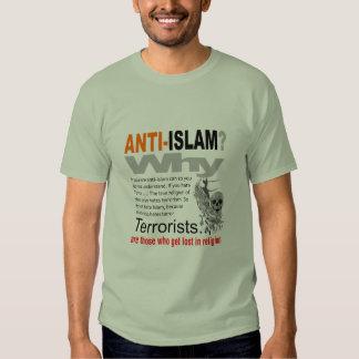 ¿Islam anti? Camiseta Polera