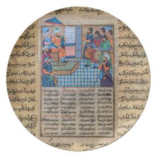 Islam antiguo platos para fiestas
