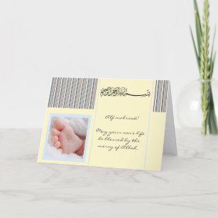 Islamic baby cards zazzle islam aqiqah birth congratulation muslim baby card m4hsunfo