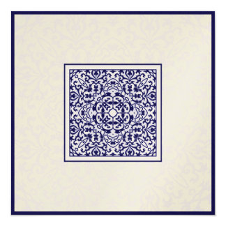 Islam Arabic metallic ornament engagement wedding Card