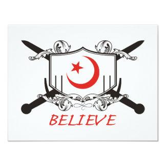 Islam Believe Card