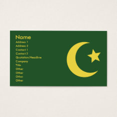 Islam - Business Business Card at Zazzle