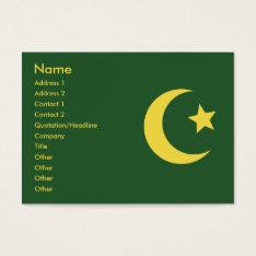 Islam - Chubby Business Card at Zazzle