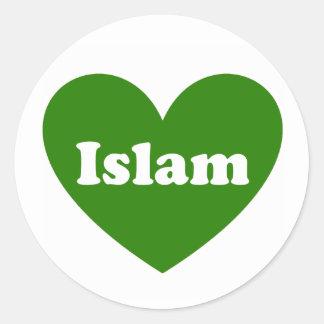 Islam Classic Round Sticker