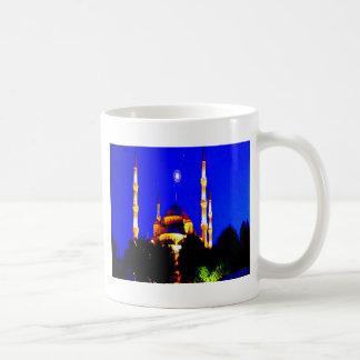 Islam de la religión de la mezquita de la mezquita taza