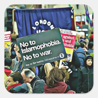 Islam Discrimination Protest Sign Sticker