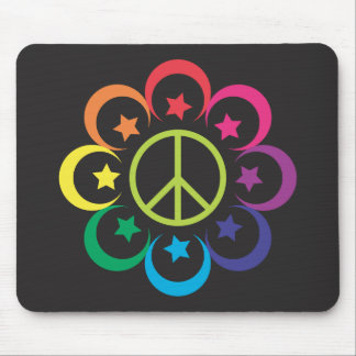 Islam equals Peace - black Mouse Pad