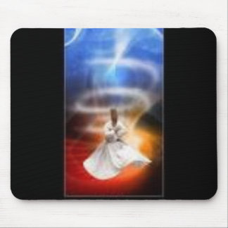 Islam espiritual turco r del derviche de giro del tapetes de ratón