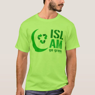 Islam - Go Green T-Shirt