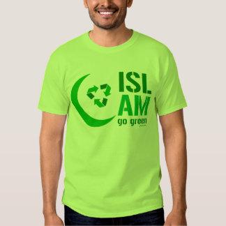 Islam - Go Green Tee Shirt