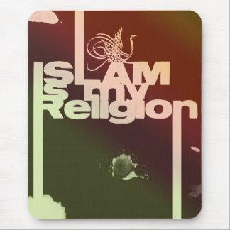 Islam is my Religion - Islamic  Arabic print Mouse Pad