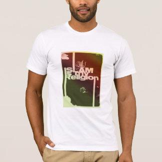 Islam is my Religion - Islamic  Arabic print T-Shirt