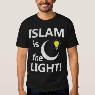 ISLAM IS THE LIGHT T-Shirt - dark