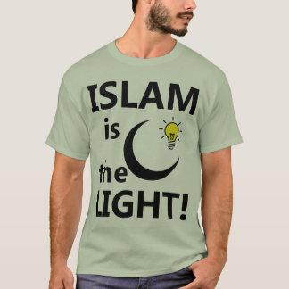 ISLAM IS THE LIGHT T-Shirt - light