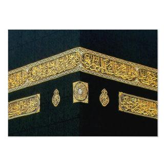 Islam Islamic Hajj Eid al Fitr Adha Mubarak Arabic Card