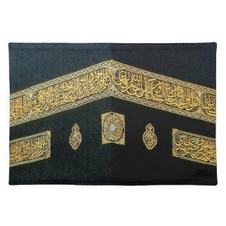 Islam Islamic Hajj Eid al Fitr Adha Mubarak Arabic Cloth Placemat