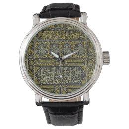 Islam Islamic Muslim Arabic Calligraphy Hajj Kaaba Watch