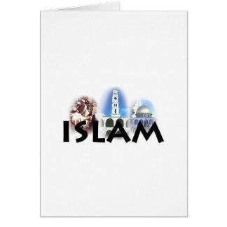 Islam la primera civilización tarjeta de felicitación