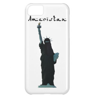 Islam Muslim version USA Statue of Liberty Hijab iPhone 5C Covers