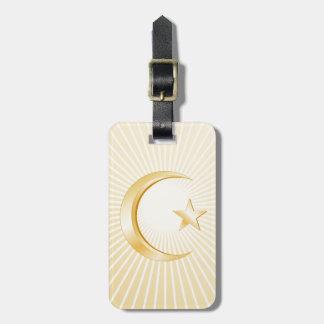 Islam Symbol Bag Tag