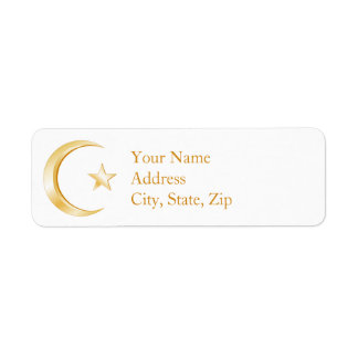 Islam Symbol Label