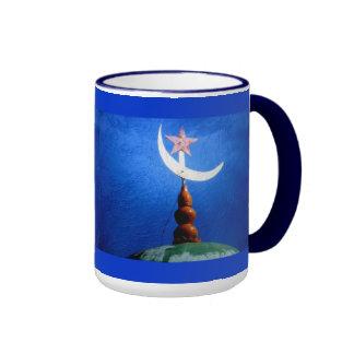 Islam Symbol Mosque Dome Ringer Mug