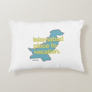 ISLAMABAD PLACE TO VACATION ACCENT PILLOW