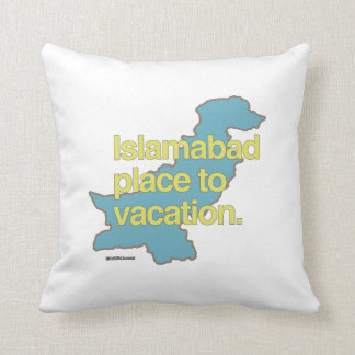 ISLAMABAD PLACE TO VACATION PILLOWS