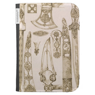 Islamic and Moorish designs for knife blades, from Kindle 3G Covers