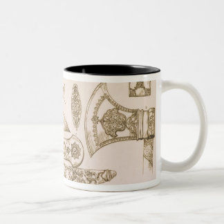 Islamic and Moorish designs for knife blades, from Two-Tone Coffee Mug
